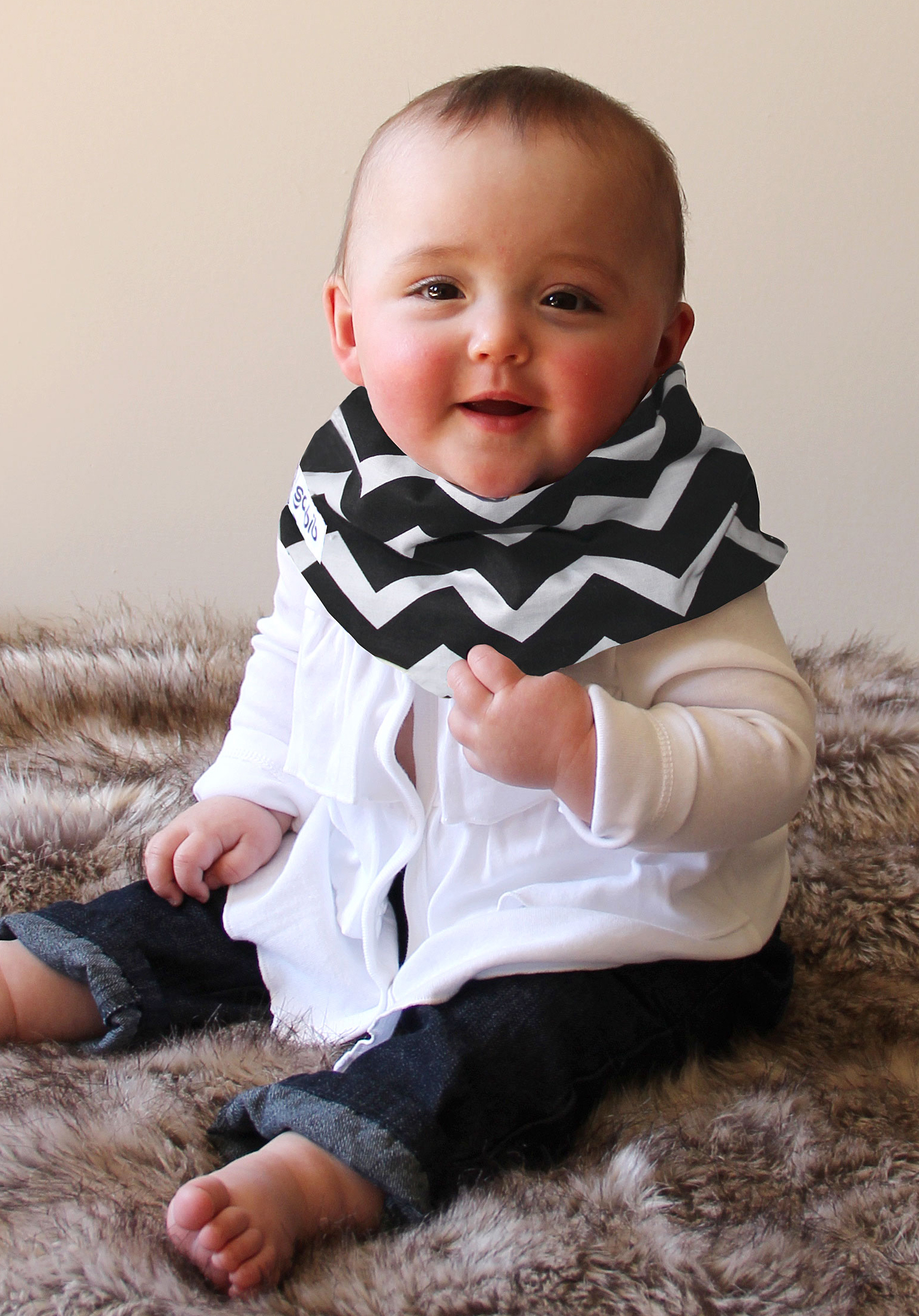 Black/White Chevron