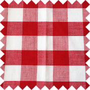 Red White Checks Swatch
