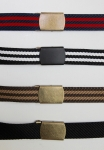 Black Nylon Belt