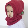 Berry Hood Scarf