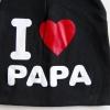 I Love Papa Beanie