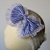 Blue Lace Headband