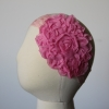 Hot Pink Floral Headband
