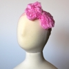 Pink Rosette Bow