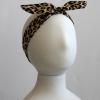 Leopard Hair Tie